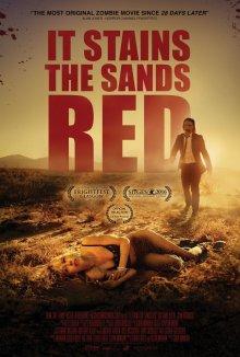 От этого песок становится красным