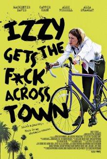 Иззи прется через город