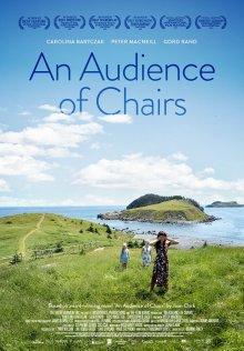 Аудитория из стульев
