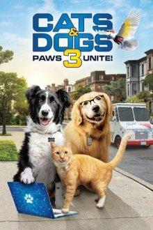 Кошки против собак 3: Лапы, объединяйтесь смотреть онлайн бесплатно HD качество