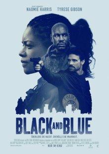 Черный и синий